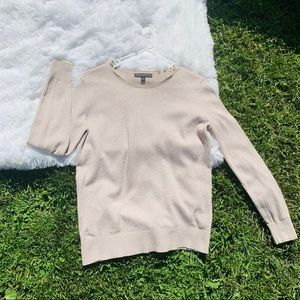 Banana Republic Cashmere Blend Gold Detail Sweater